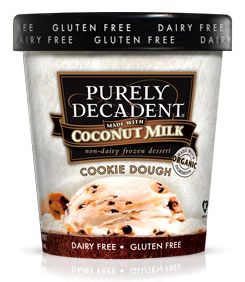 Purely Decadent Cookie Dough Dairy-Free Ice Cream