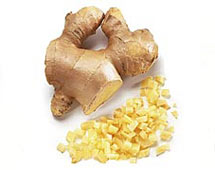 use ginger for fighting colds