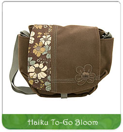 eco-friendly handbag haiku to go bloom for sale