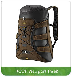 eco-friendly backpack: keen newport pack for sale