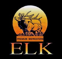 Grass fed midwestern elk: wild rice elk