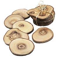Fair Trade Hard Wood Coasters for Sale