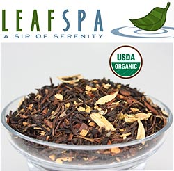 Organic Chai Tea from LeafSpa: Chai tea smoothie