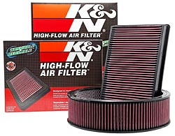 High Performance K&N Air Filters