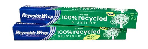 100% Recycled Reynolds Wrap