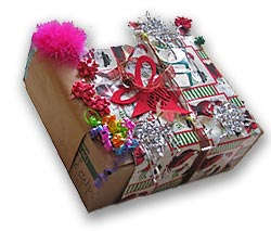 Re-using Wrapping Paper