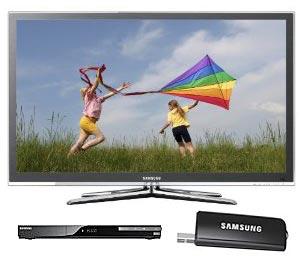 Samsung LED HDTV UN55C6500 for sale