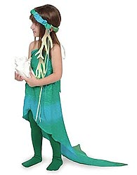 Sarah's Silk homemade halloween costumes Mermaid Costume