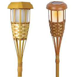 solar tiki torches for sale