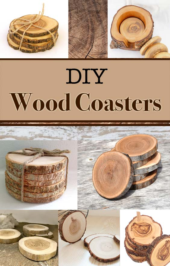 Diy Olive Wood Coasters