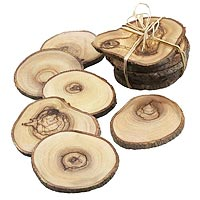 hard wood coasters for sale