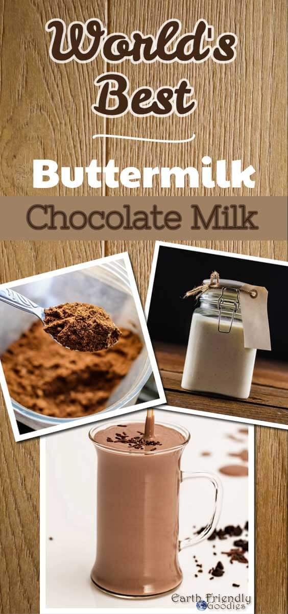 making chocolate milk with buttermilk