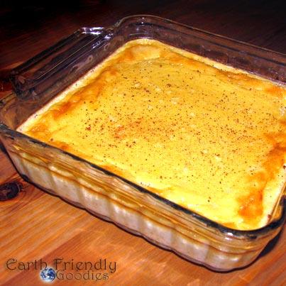 simple baked custard recipe