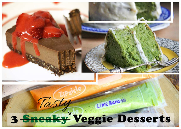desserts that use hidden vegetables